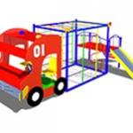 Макет-комплекс «Пожарная машина»
