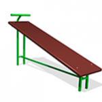 Скамья гимнастическая наклонная