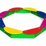 Детская песочница «Восьмиугольная»