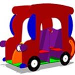 Игровой макет «Машинка-Жук»